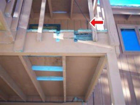 Deck Safety Concern - missing handrail